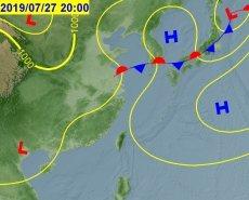 氣象專家吳德榮說未來10天西北太平洋相當平靜,沒有颱風連續生成的條件。圖為7月2...