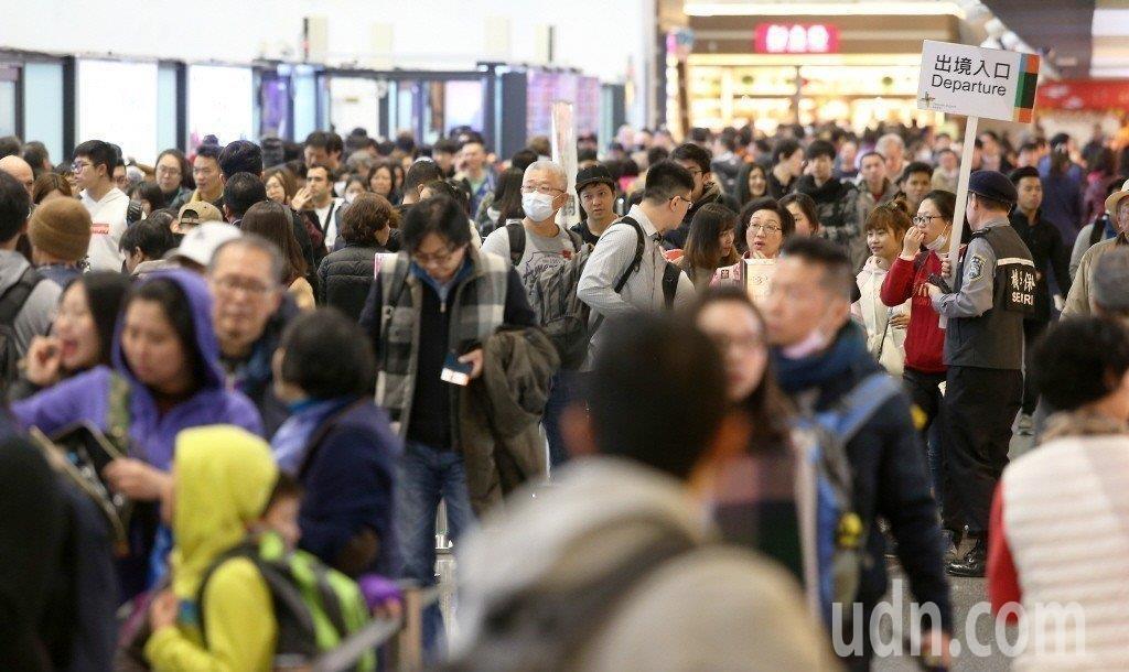 韓國是入境台灣旅客的第四大客源國,僅次於大陸、港澳跟日本。示意圖。本報資料照片