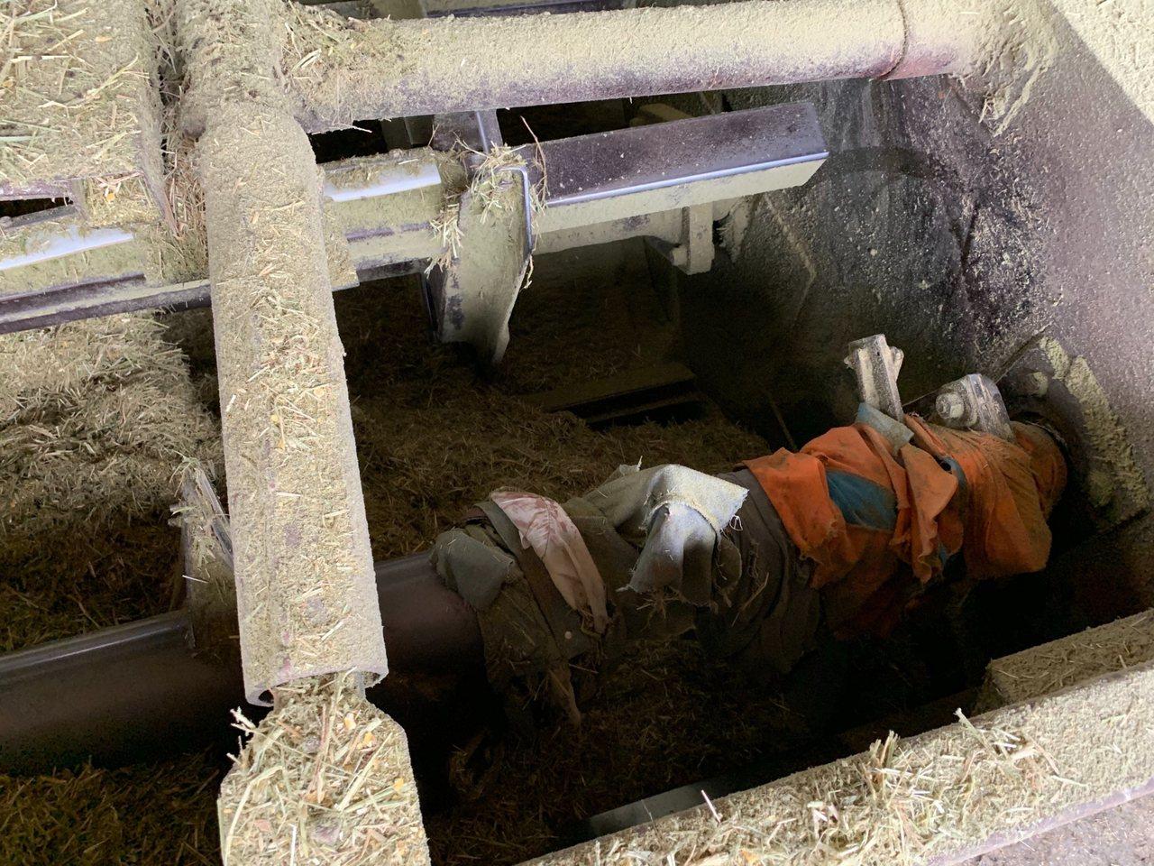 嘉義縣六腳鄉一處畜牧場71歲洪姓老員工,操作牧草粉碎機時,不慎掉入粉碎機攪成肉醬...