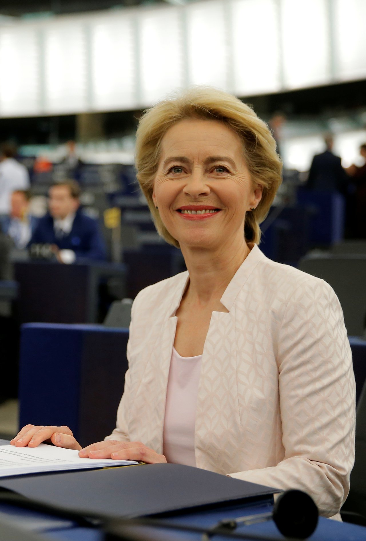 歐盟執委會首位女主席范德賴恩。路透