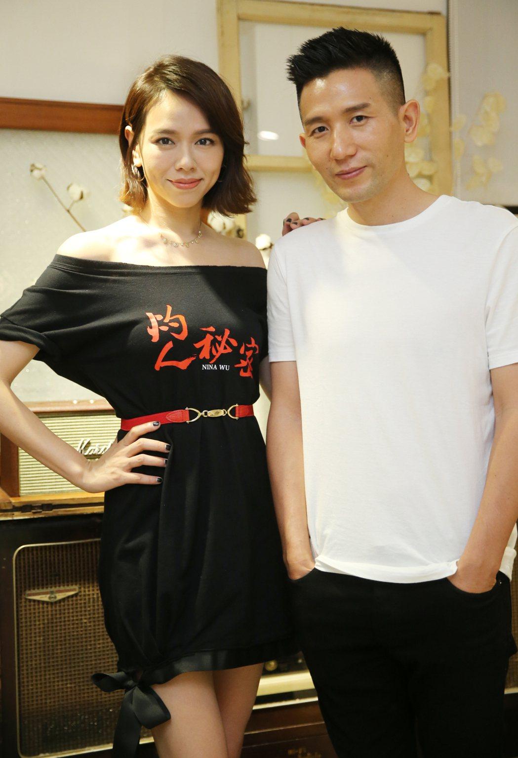 夏于喬(左)、導演趙德胤。記者曾學仁/攝影