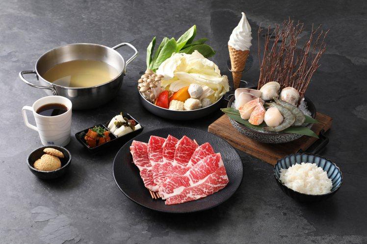 1公斤昆布僅可熬煮50人份湯底的「Hi-Q褐藻鱻食火鍋」售價880元。圖/業者提...