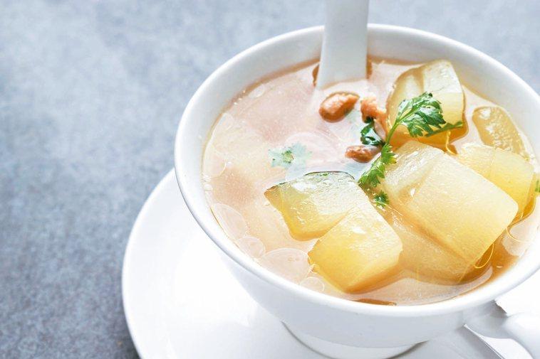 冬瓜有助消水腫、減肥,但不宜餐餐都吃。 圖╱123RF