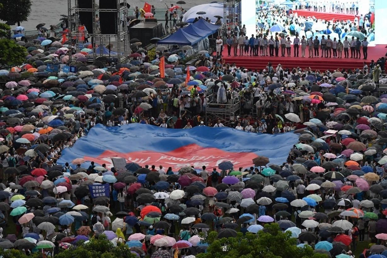 人民日報:香港不能亂下去