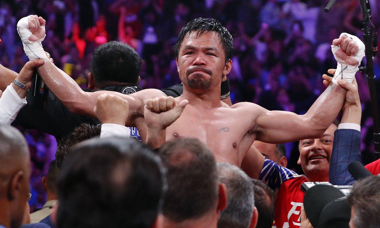 菲律賓拳王帕奎奧證明自己仍戰無不勝 美聯社