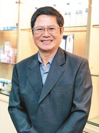 台海公司董事長鄭國忠。 記者黃文奇/攝影