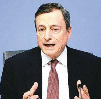 ECB本周會議將為新的寬鬆政策奠定基礎,圖為ECB總裁德拉基。 路透