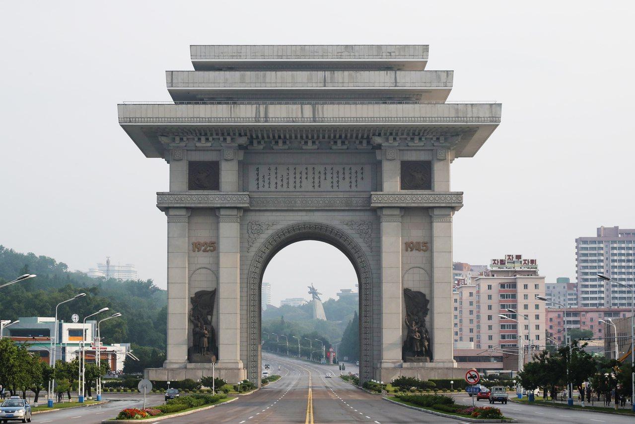 中國觀光客選擇到北韓旅遊人數大幅增加。 新華社