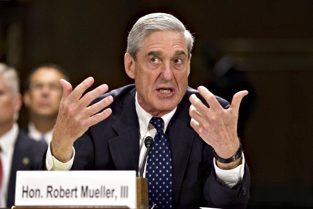 美國前特別檢察官穆勒。 美聯社