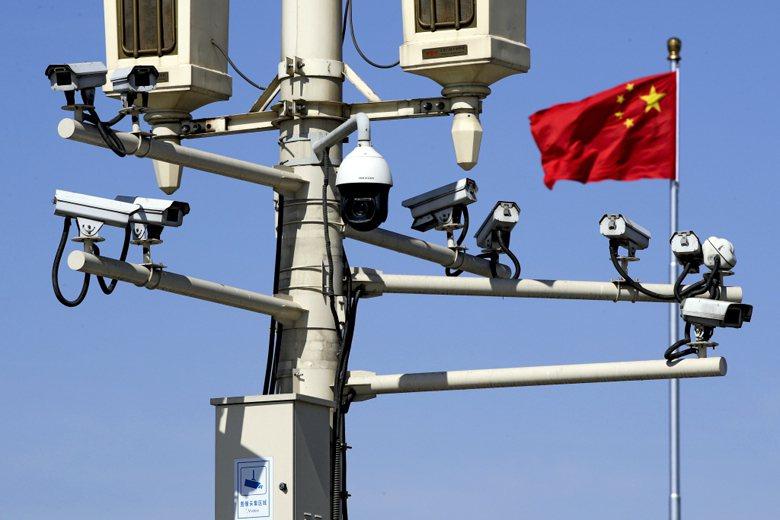 前年即有代理業者表示,海康威視的監視器早已進駐全台灣,而且市佔接近3成。 圖/美聯社