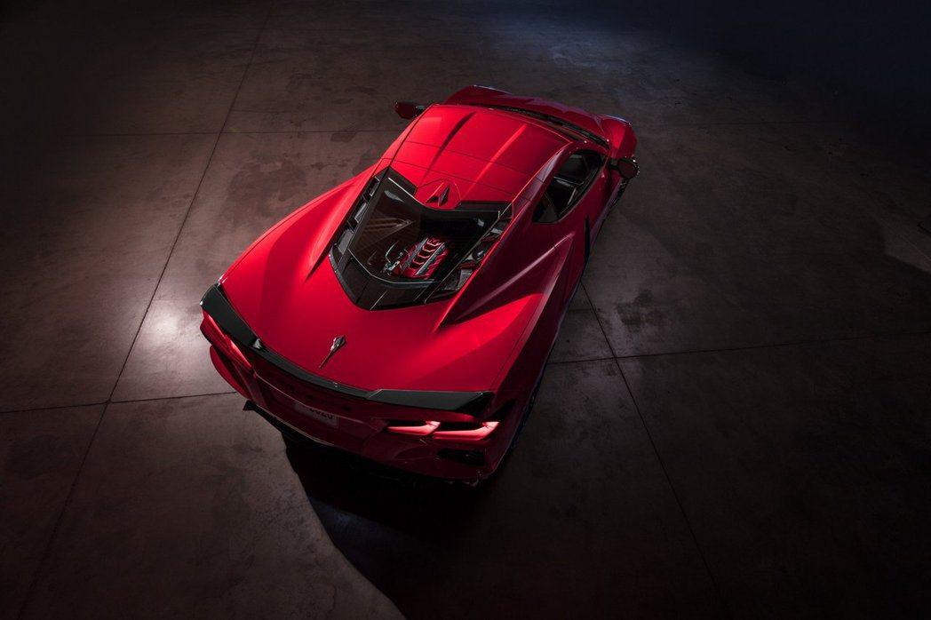 Chevrolet Corvette Stingray C8。 摘自Chevro...