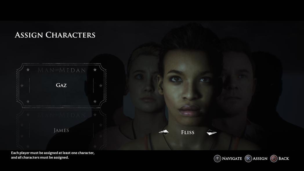 「電影之夜」模式指定角色畫面