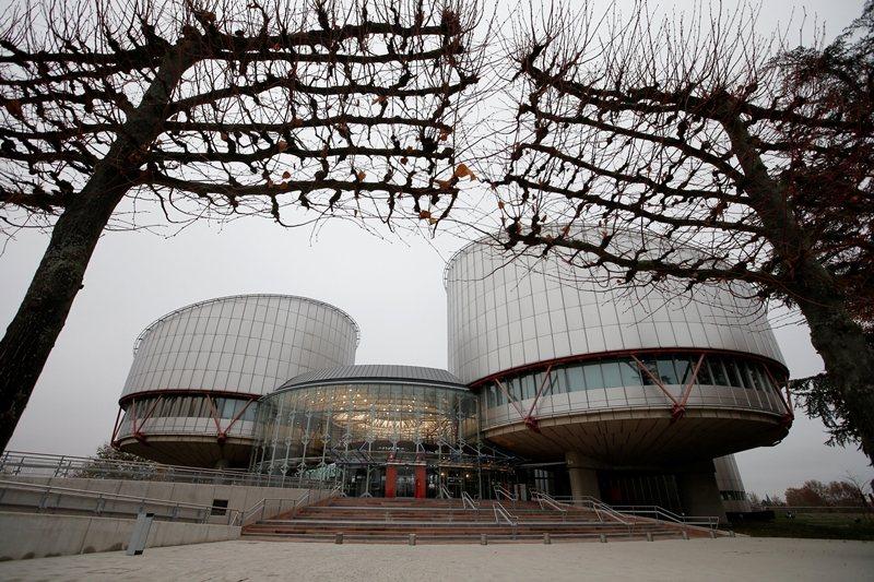 位於法國史特拉斯堡的歐洲人權法院。 圖/路透社