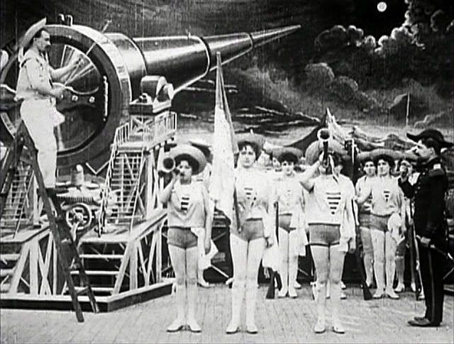 用大炮發射太空船現在聽來或許荒謬,但時至今日仍然有人想用電磁砲之類的技術把貨物運送到太空中。
