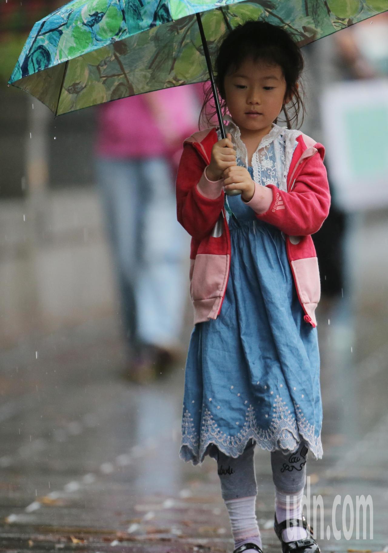 中央氣象局說,今天午後全台都要留意短時強降雨。本報資料照片