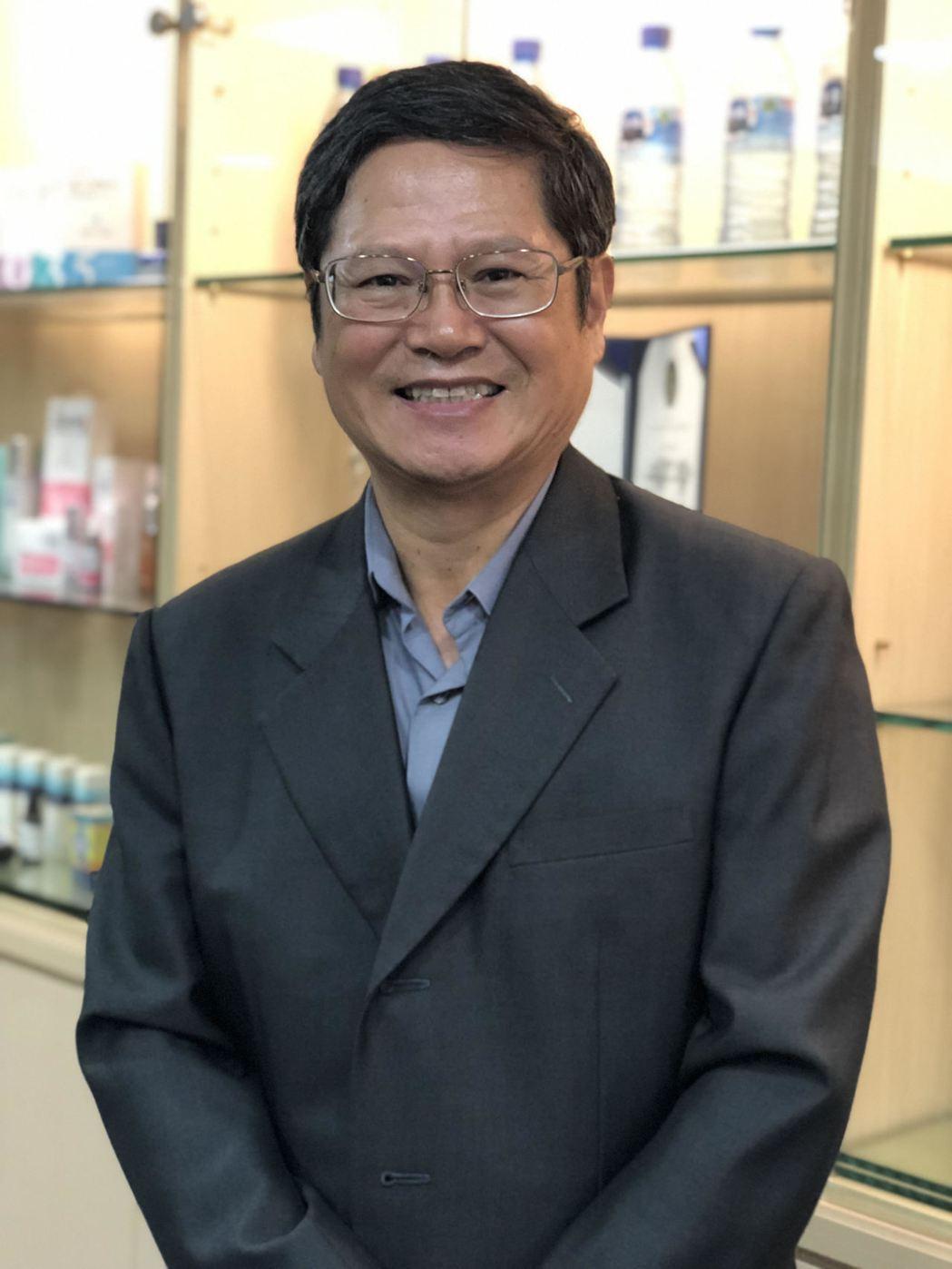 台灣海洋深層水公司董事長鄭國忠。記者黃文奇/攝影