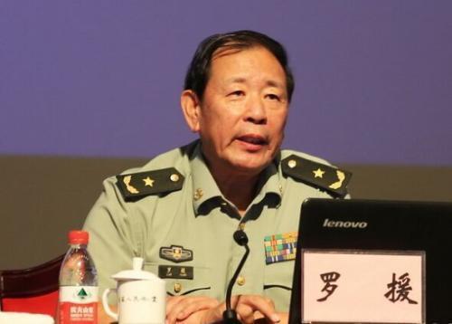 中共解放軍少將、中國戰略文化促進會常務副會長羅援。取自環球網