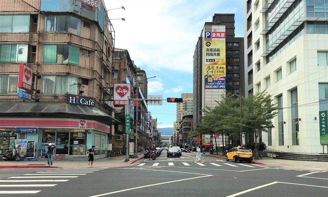 南港區。記者游智文/攝影