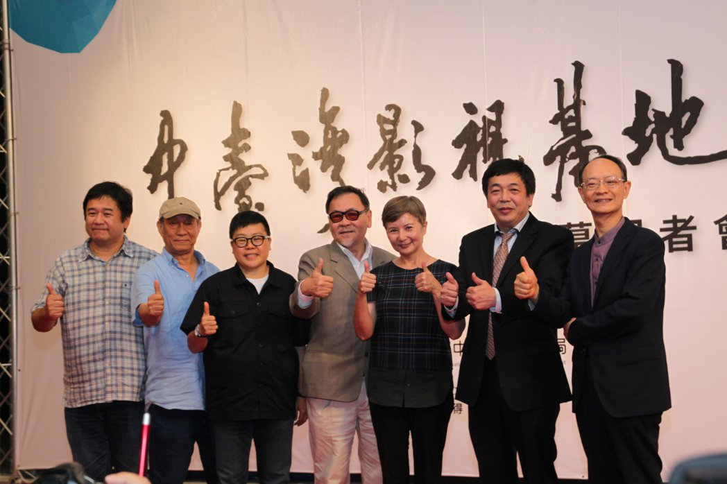 中台灣影視基地開幕啟用。記者黃寅/攝影