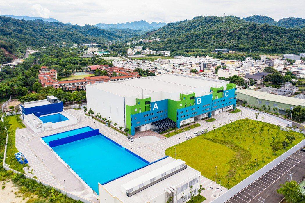 中台灣影視基地開幕啟用。圖/台中市政府提供