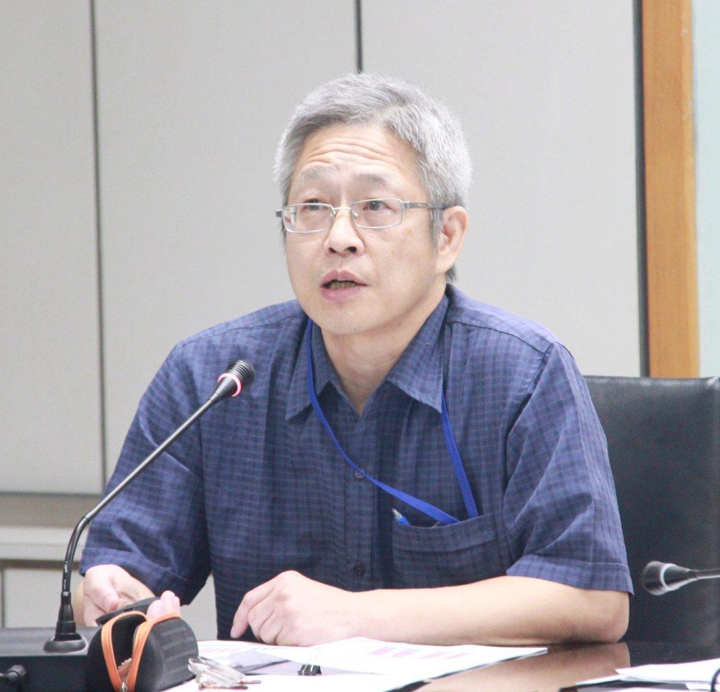 北市衛生局統計室主任沈忠憲。圖/衛生局提供