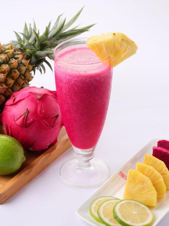 火龍果果汁。圖/業者提供