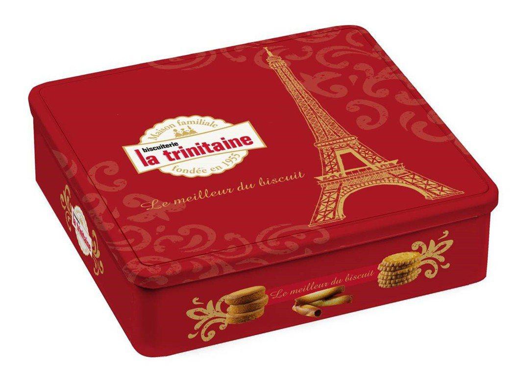 La trinitaine「香頌」華麗與浪漫的法式風情喜餅禮盒,售價680元(6...