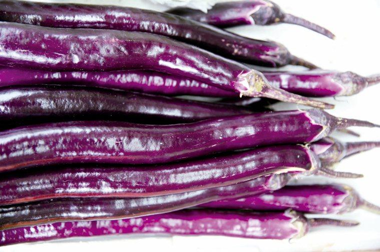 紫色茄子。 本報資料照片