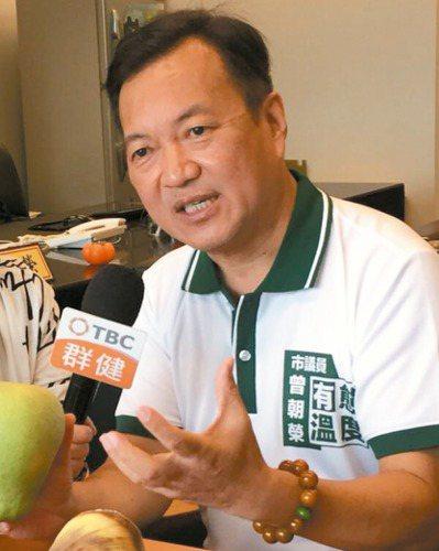 民進黨中央傳出計畫徵召市議員曾朝榮參選立委。 圖/取自曾朝榮臉書