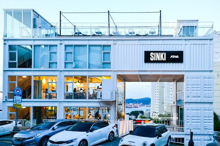 韓國釜山/絕美港大橋夜景屋頂咖啡館,SINKI新起產業