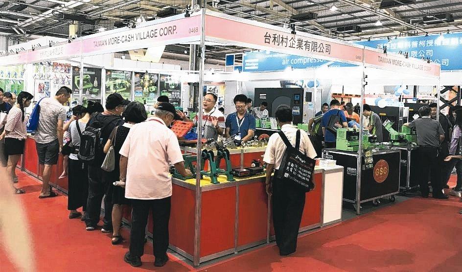台利村企業GSC品牌積極參展,讓五金加工業、零組件製造業能真正體會到什麼是最適用...