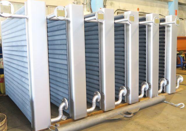 啟碩推出新型高品級熱交換器(二)。 陳華焜/攝影