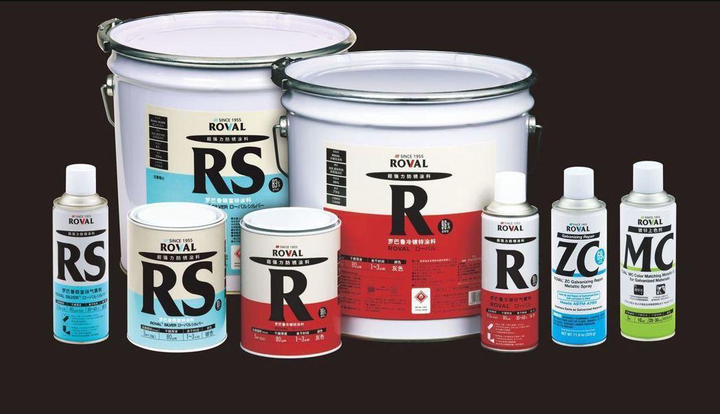 行銷全球60多年的日本第一大品牌「ROVAL(羅巴魯)冷鍍鋅防鏽塗料」,擁有與熱...