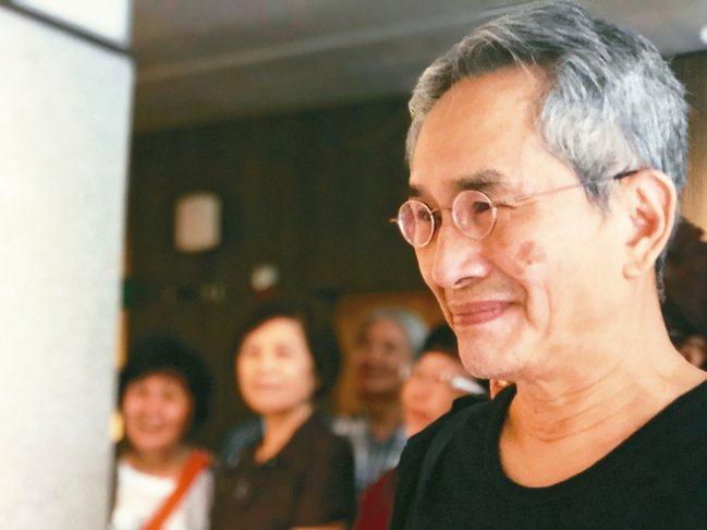 雲門舞集藝術總監林懷民說,雲門換新的活力是加法,並不是卡掉。 記者何定照/攝影