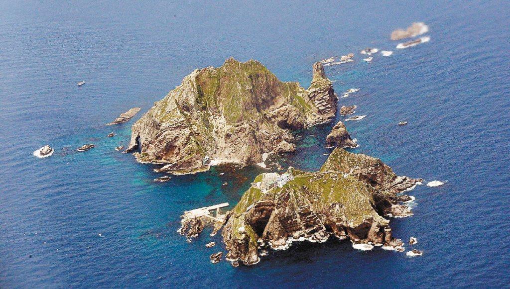 南韓獨島。美聯社