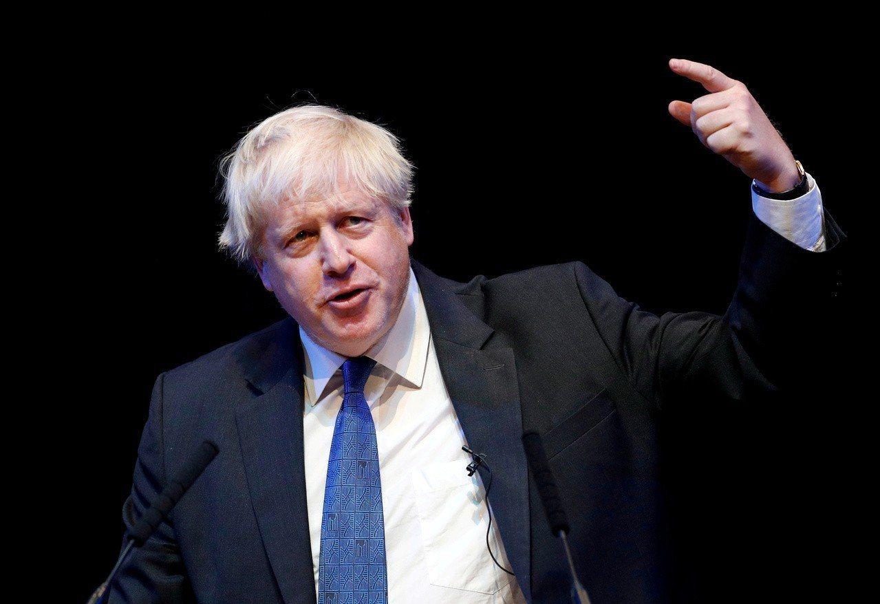 強生將成為下任英國首相。 路透