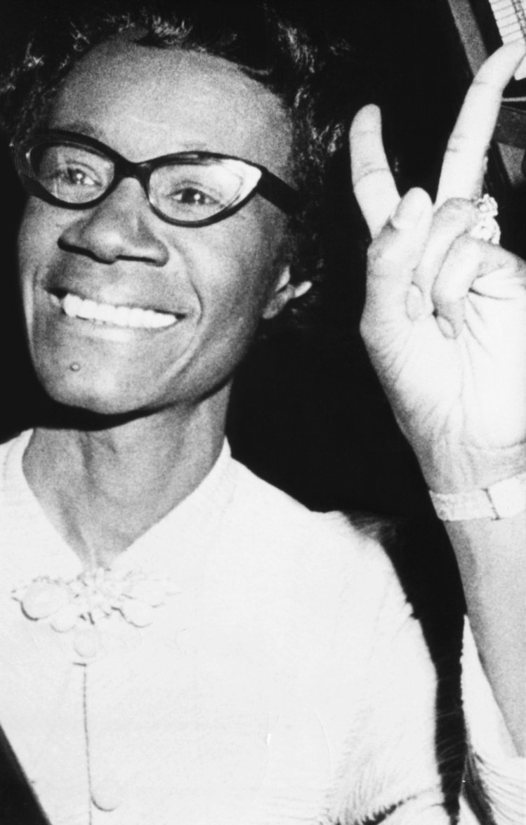 Shirley Chisholm。圖/達志影像