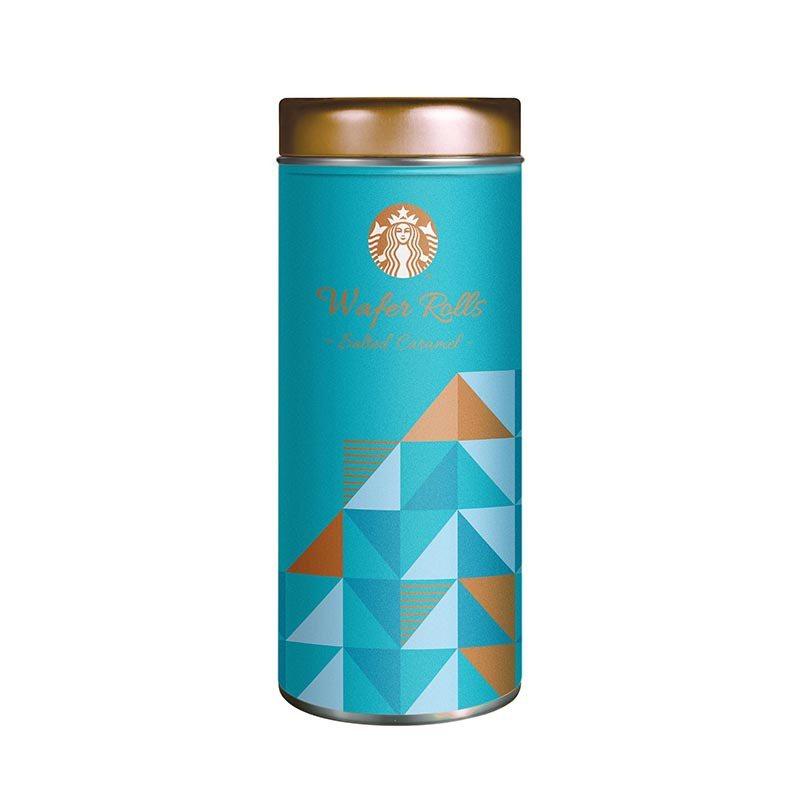 海鹽焦糖風味威化捲心酥。圖/Starbucks提供