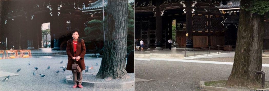 左:1998年舊照,右:網友比對。 圖片來源/PTT