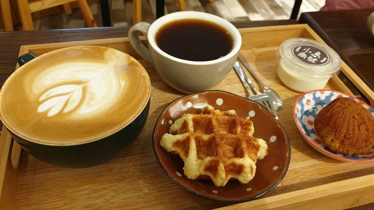 咖啡和甜點。報系資料照