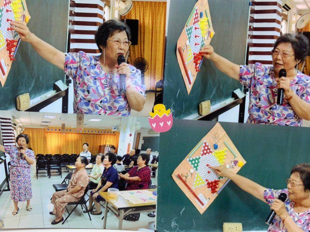 蘇黃美說,全家同心支持是她擔任志工最大的動力,而志工也不是單向的給予,也需要持續...