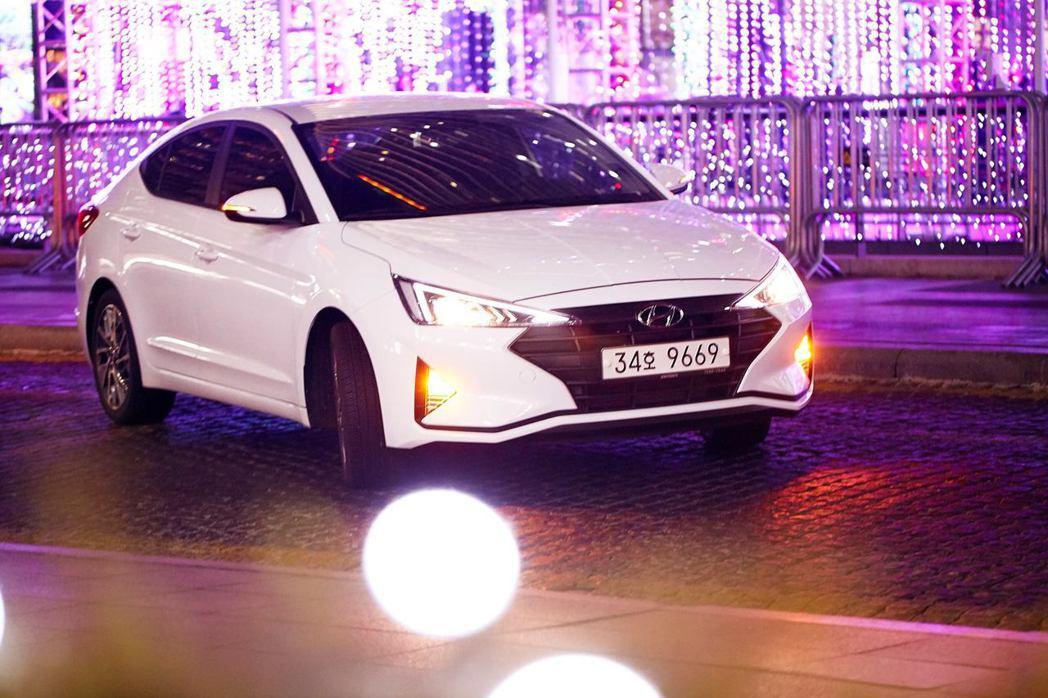 現行第六代小改款Hyundai Elantra。 摘自Hyundai