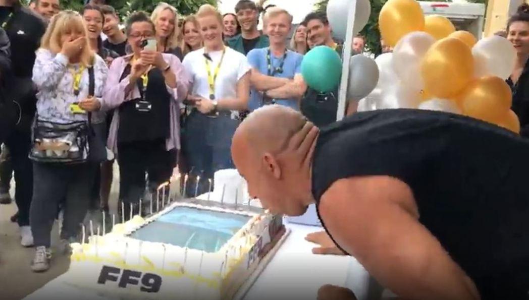 Vin Diesel歡慶52歲生日。 摘自IG:vindiesel