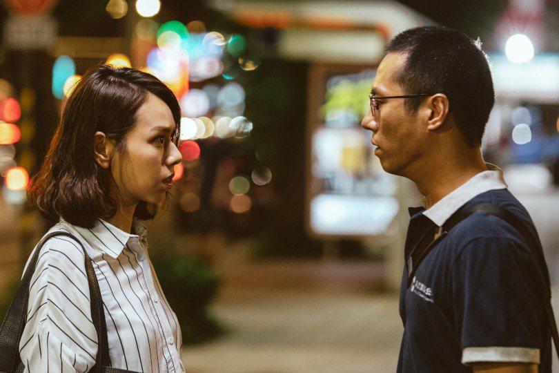 《噬罪者》以主角王翔出獄作為劇情的開展起使點。圖為演員夏于喬與莊凱勛。 圖/公視提供