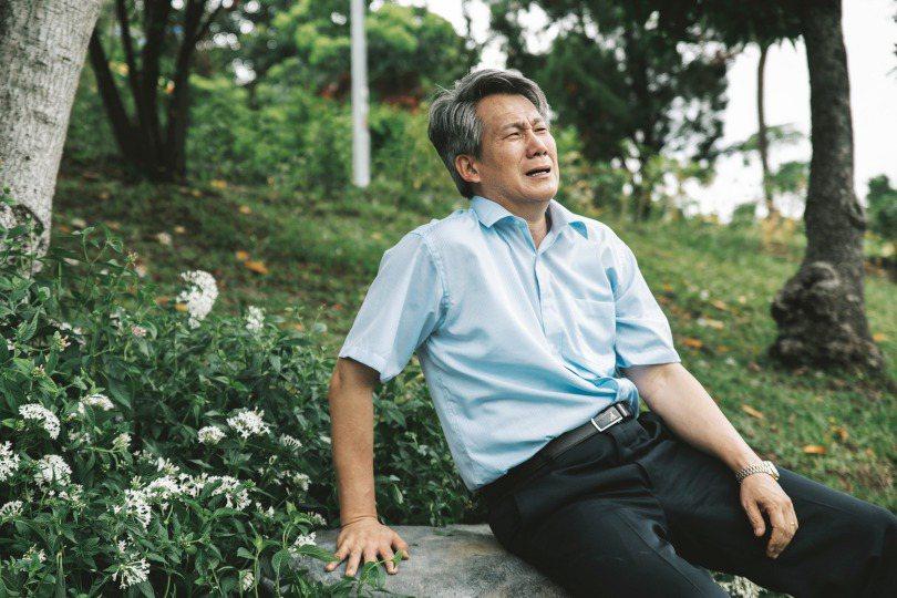 李曉君的父親李春生一直活在痛苦與悲傷中。 圖/公視提供