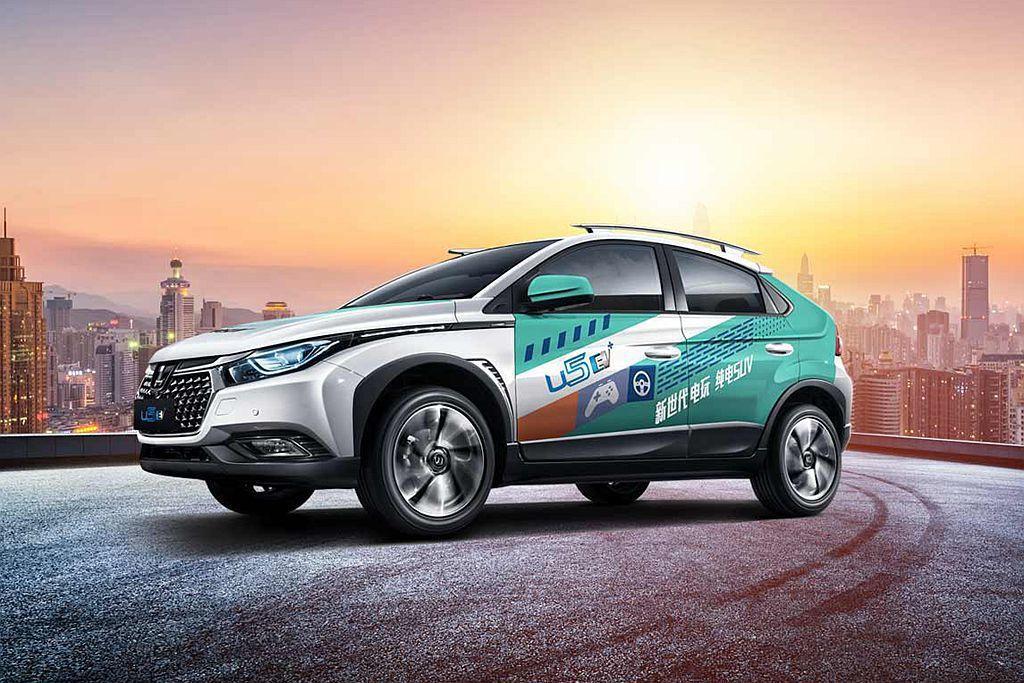 納智捷汽車在中國市場轉型的第一步,U5 EV電動跨界休旅已經開始量產。 圖/Lu...