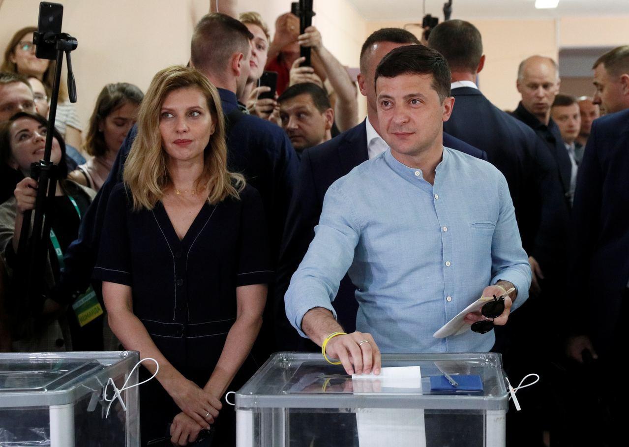 澤連斯基及其政黨將組成烏克蘭獨立以來最有權力的政府。路透社