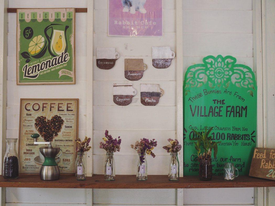 Pai 的兔子咖啡館。