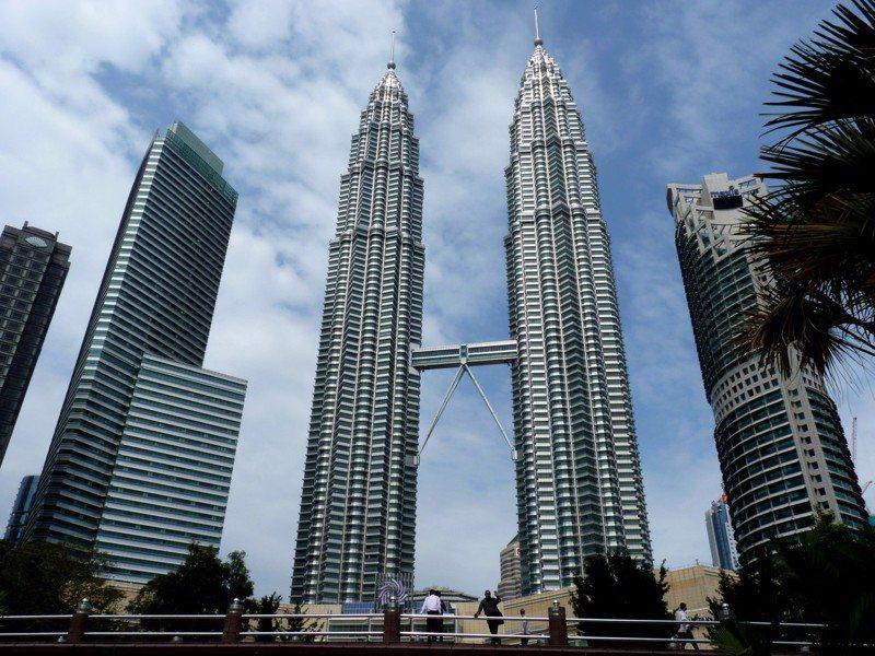 雙子星大樓。 圖/Wikimedia