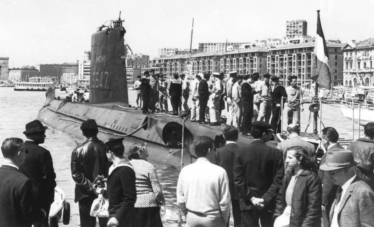 一艘失蹤長達51年的潛艇「智慧女神號」(La Miinerve),已在土倫(To...